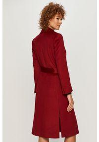 Brązowy płaszcz MAX&Co. klasyczny, bez kaptura