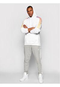 Adidas - adidas Bluza Sprt Sweat Hood GN2425 Biały Regular Fit. Kolor: biały