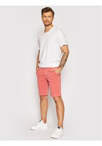 Baldessarini Szorty materiałowe Jorg B1 16938/000/2204 Różowy Regular Fit. Kolor: różowy. Materiał: materiał