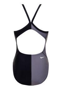 Czarny strój kąpielowy sportowy Nike