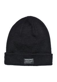 Czarna czapka Jack & Jones