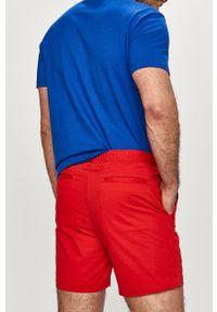 Polo Ralph Lauren - Szorty. Okazja: na co dzień. Kolor: czerwony. Materiał: tkanina. Wzór: gładki. Styl: casual