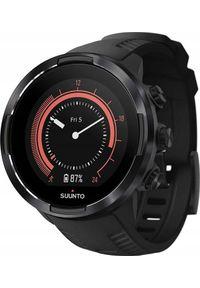 SUUNTO - Zegarek sportowy Suunto 9 G1 Baro Czarny (SS050019000). Kolor: czarny. Styl: sportowy