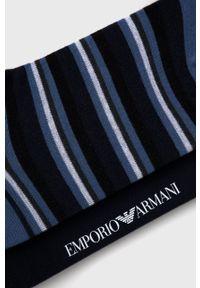 Emporio Armani Underwear - Skarpetki (2-pack). Kolor: niebieski