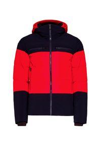 Czerwona kurtka narciarska Fusalp