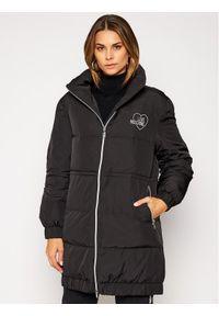 Czarna kurtka zimowa Love Moschino