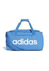 Niebieska torba sportowa Adidas na fitness i siłownię