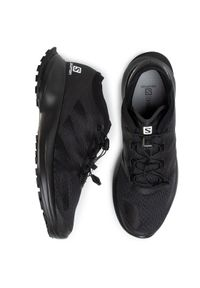 Czarne buty do biegania salomon #7