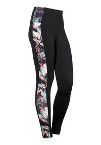 Cellbes Wzorzyste legginsy treningowe Czarny we wzory female czarny/ze wzorem 54/56. Kolor: czarny. Materiał: materiał, guma. Sport: fitness, turystyka piesza