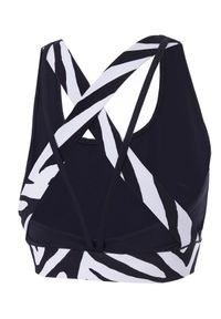 REDEMPTION ATHLETIX - Sportowy top ze zwierzęcym wzorem. Kolor: czarny. Materiał: nylon. Długość rękawa: na ramiączkach. Wzór: motyw zwierzęcy. Styl: sportowy