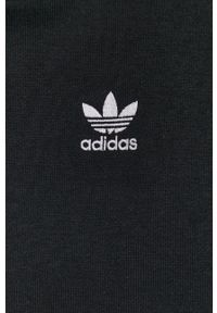 adidas Originals - Bluza. Typ kołnierza: kaptur. Kolor: czarny. Materiał: bawełna, poliester