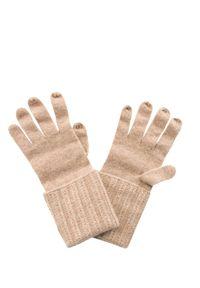 Beżowe rękawiczki William Sharp