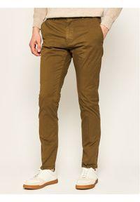 Zielone spodnie Hugo