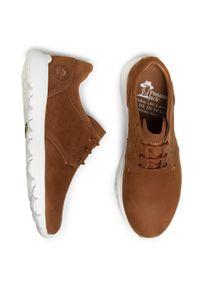 Brązowe sneakersy Panama Jack z cholewką