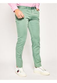 Zielone spodnie Emporio Armani
