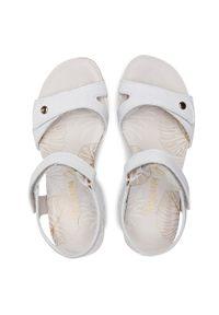 Białe sandały Panama Jack casualowe, na co dzień