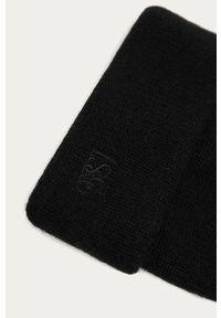 Czarna czapka Levi's® w kolorowe wzory, biznesowa
