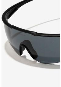Hawkers - Okulary przeciwsłoneczne Black Cycling. Kształt: prostokątne. Kolor: czarny