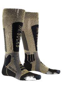 X-Socks Skarpety narciarskie HeliXX Gold. Sport: narciarstwo