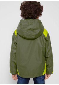 Zielona kurtka bonprix na co dzień, casualowa