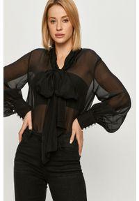 Czarna bluzka Miss Sixty casualowa, długa