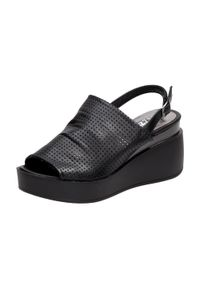 Czarne sandały Jezzi klasyczne #1