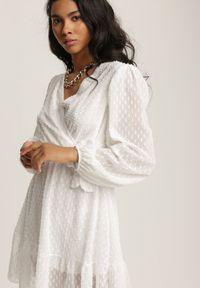 Renee - Biała Sukienka Savagale. Kolor: biały