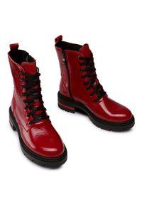 Czerwone buty trekkingowe Baldaccini