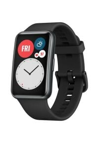 Smartwatch HUAWEI Watch Fit Czarny. Rodzaj zegarka: smartwatch. Kolor: czarny