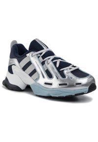 Niebieskie sneakersy Adidas