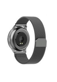 Srebrny zegarek Media-Tech smartwatch