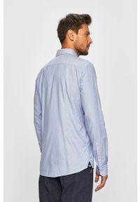Niebieska koszula JOOP! button down, na co dzień, casualowa