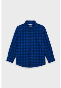Niebieska koszula Mayoral na co dzień, casualowa