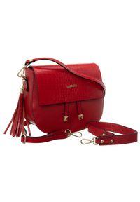 Czerwona torebka Badura do ręki
