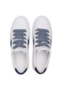 Białe sneakersy Cycleur De Luxe z cholewką, na co dzień