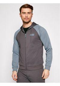 Guess Bluza U1GA18 JR06E Brązowy Regular Fit. Kolor: brązowy