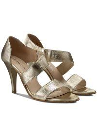 Złote sandały Baldaccini wizytowe #7