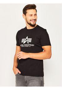 Alpha Industries T-Shirt Basic 100501 Czarny Regular Fit. Kolor: czarny