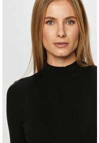 Czarny sweter TALLY WEIJL długi, na co dzień, z długim rękawem, casualowy