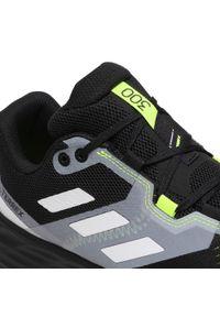 Adidas - Buty adidas - Terrex Two Flow FW2582 Cblack/Crywht/Syello. Zapięcie: sznurówki. Kolor: czarny. Materiał: skóra ekologiczna, materiał, skóra. Szerokość cholewki: normalna. Model: Adidas Terrex