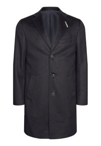 Niebieski płaszcz przejściowy Baldessarini #6