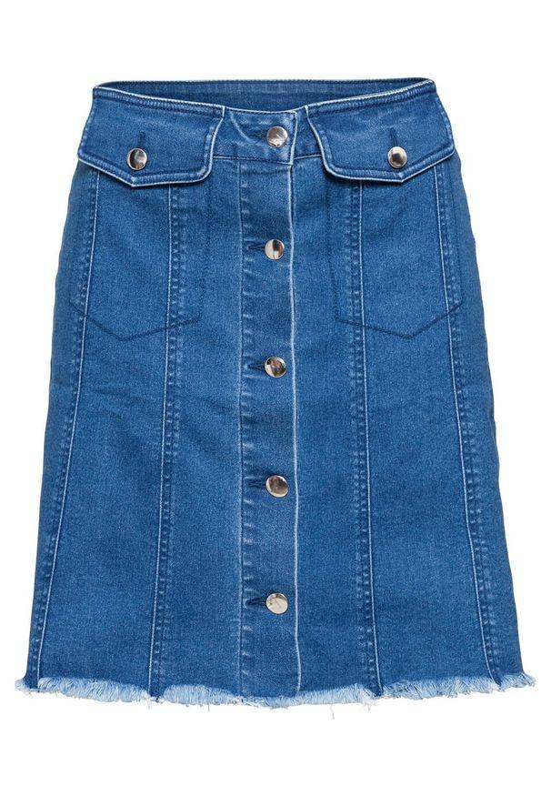 Niebieska spódnica bonprix