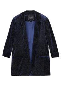 Niebieski żakiet TOP SECRET na zimę, elegancki