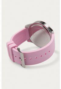 Guess Jeans - Zegarek W1223L1. Kolor: różowy. Materiał: jeans