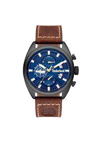 Brązowy zegarek Timberland