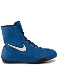 Niebieskie buty treningowe Nike z cholewką #7