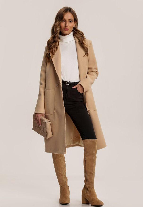 Beżowy płaszcz Renee
