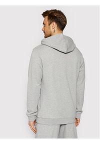 Adidas - adidas Bluza Trefoil Warm-Up DT7963 Szary Regular Fit. Kolor: szary