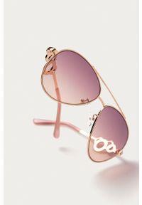 Guess - Okulary GF0365.28Z. Kolor: różowy