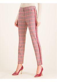 Spodnie materiałowe Laurèl w kolorowe wzory